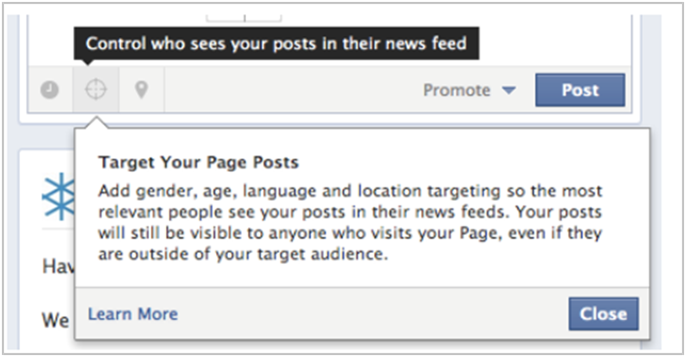 Facebook Marketing Post Targeting