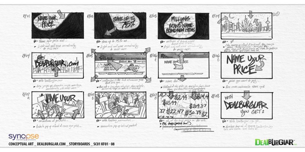 Illustration Storyboards