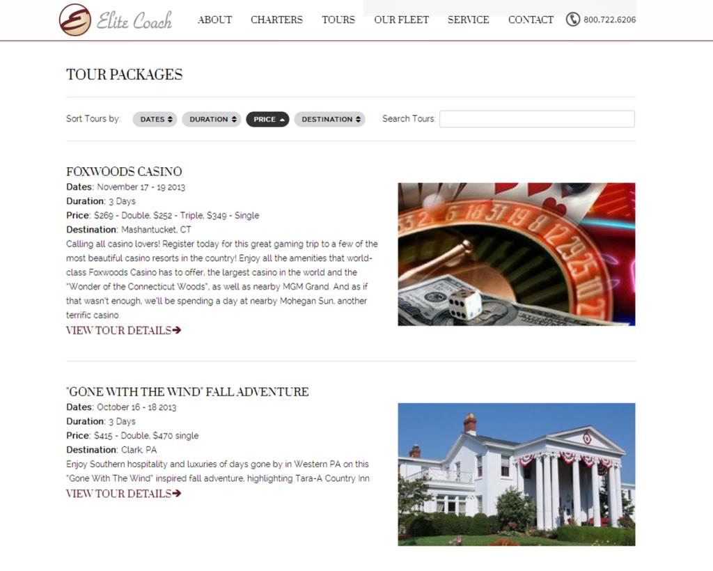 Custom WordPress Site
