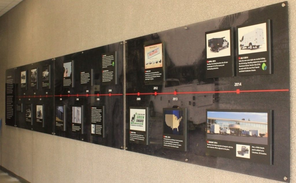 Reading Truck Body Timeline panoramic