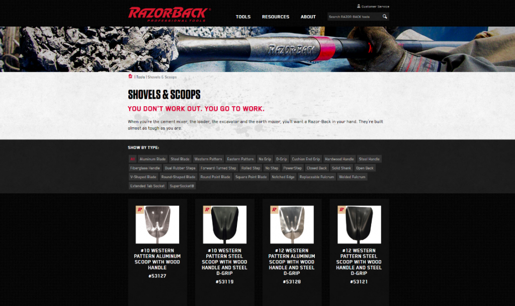 Razor-Back Tools By Trade Filter System by Synapse Marketing