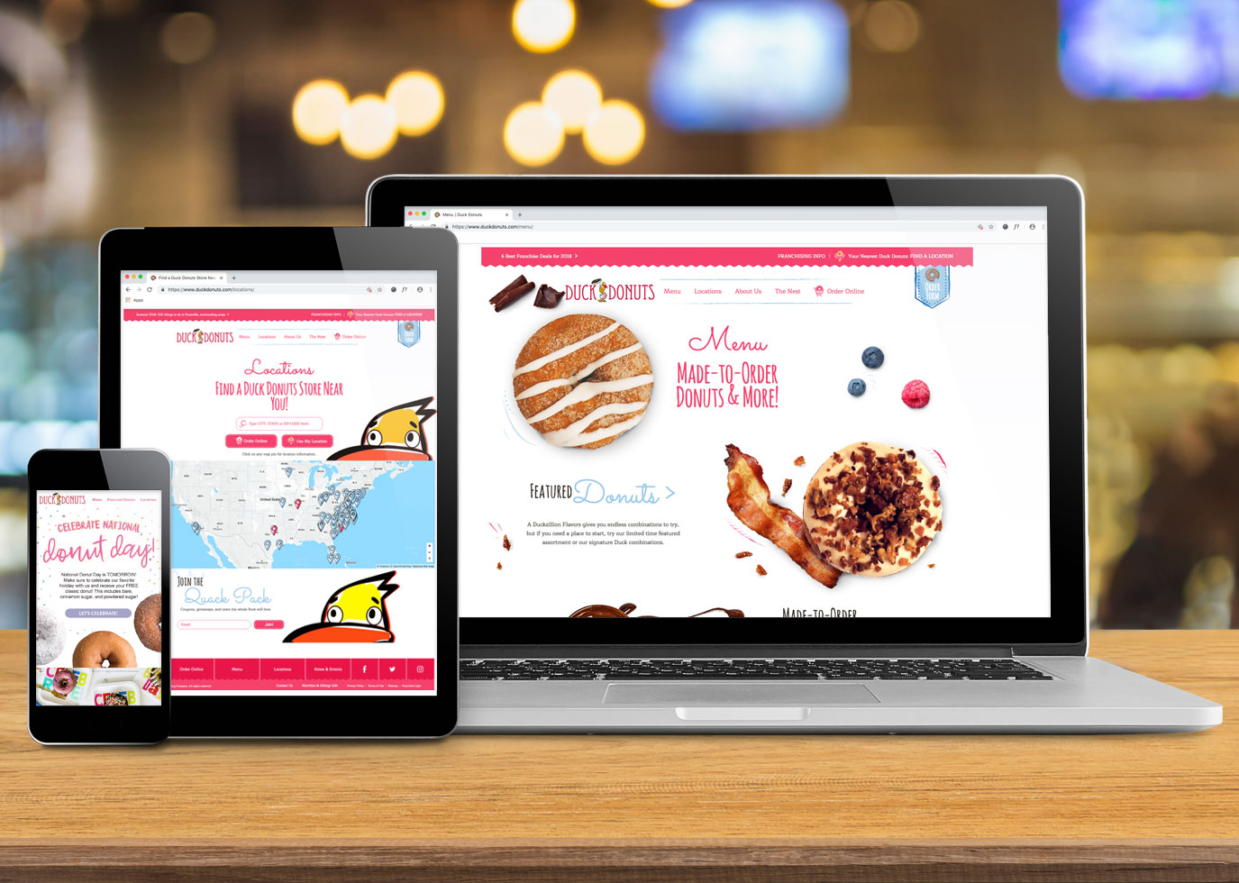 Synapse Website Strategy for Duck Donuts