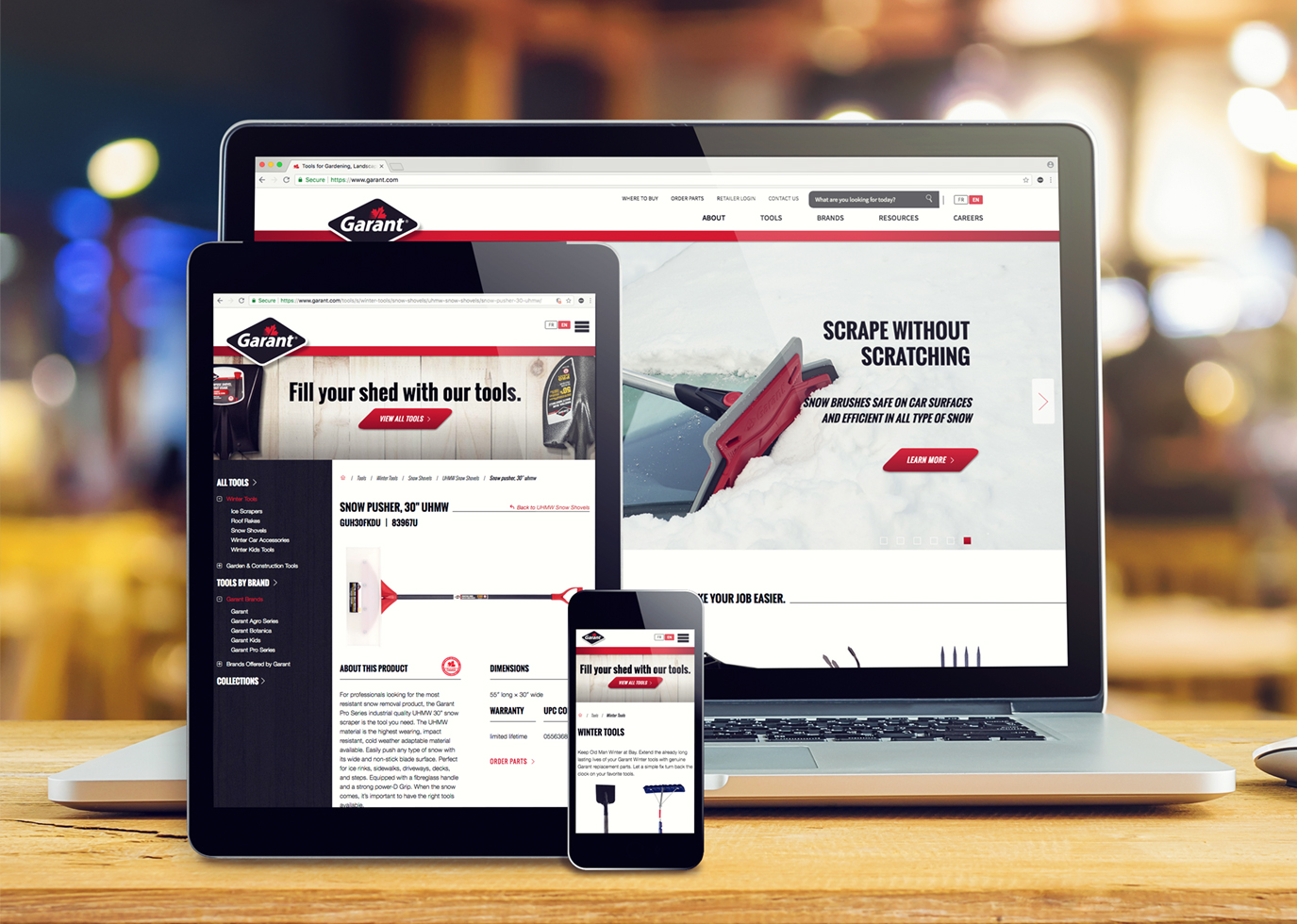 Synapse Website Strategy for Client Garant
