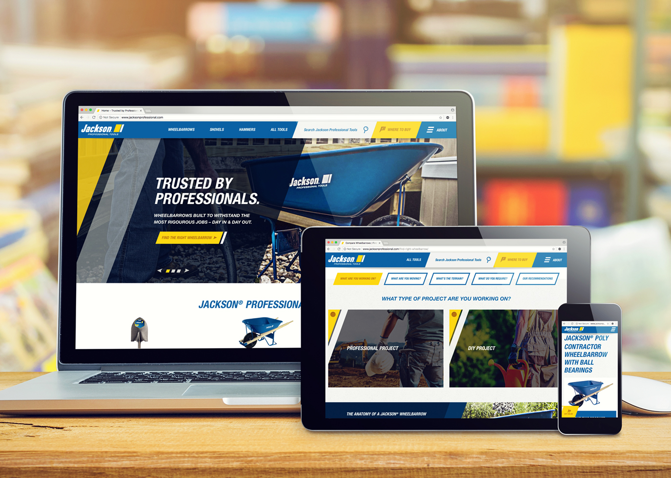 Synapse Website Strategy for Client Jackson