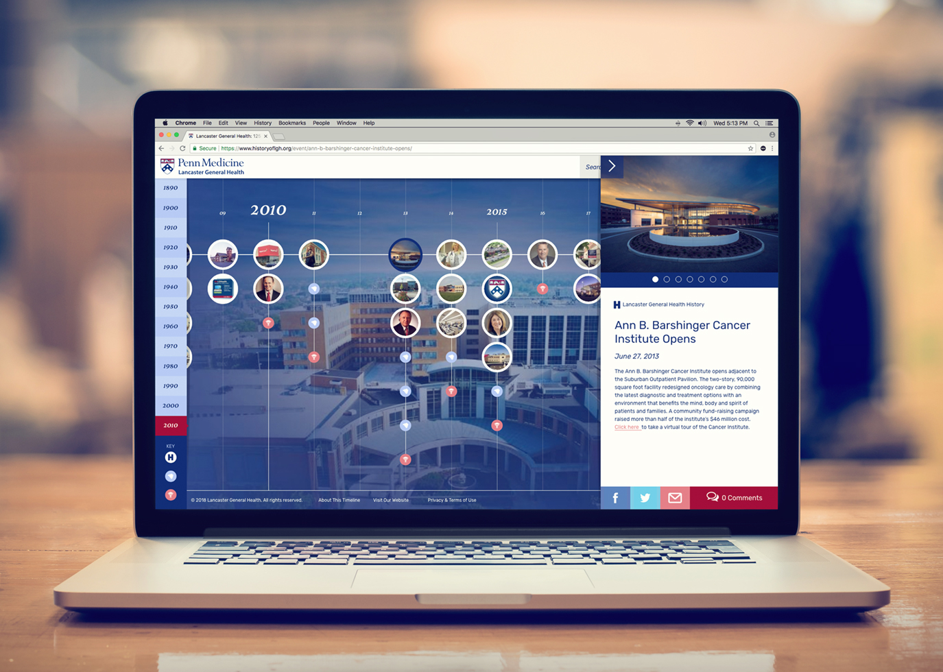 Synapse Website Strategy for Client Penn Medicine