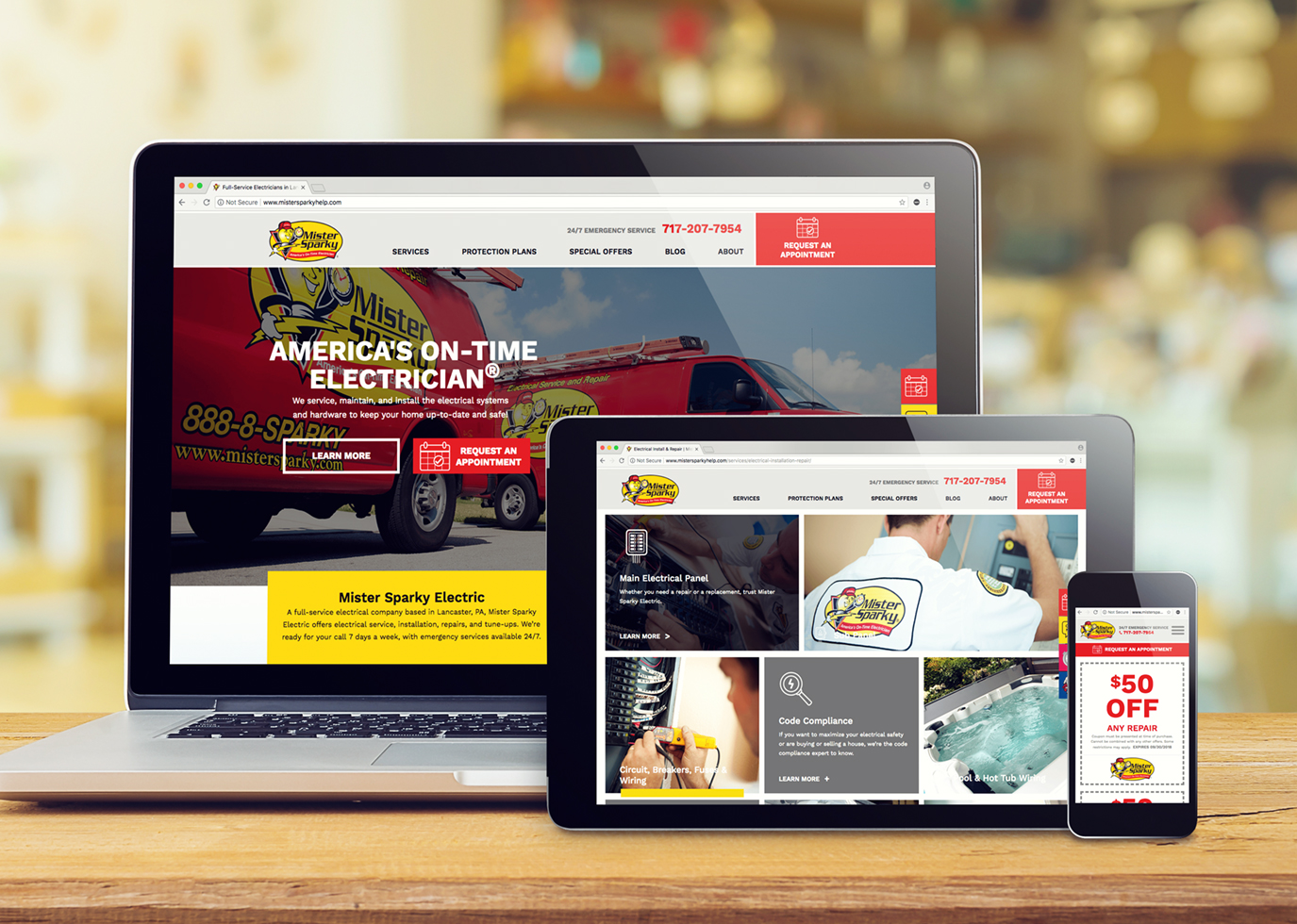 Synapse Website Strategy for Franchise Client Mister Sparky