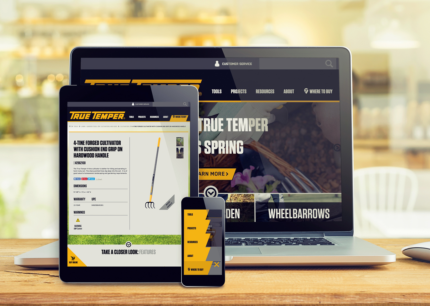 Synapse Website Strategy for Client True Temper