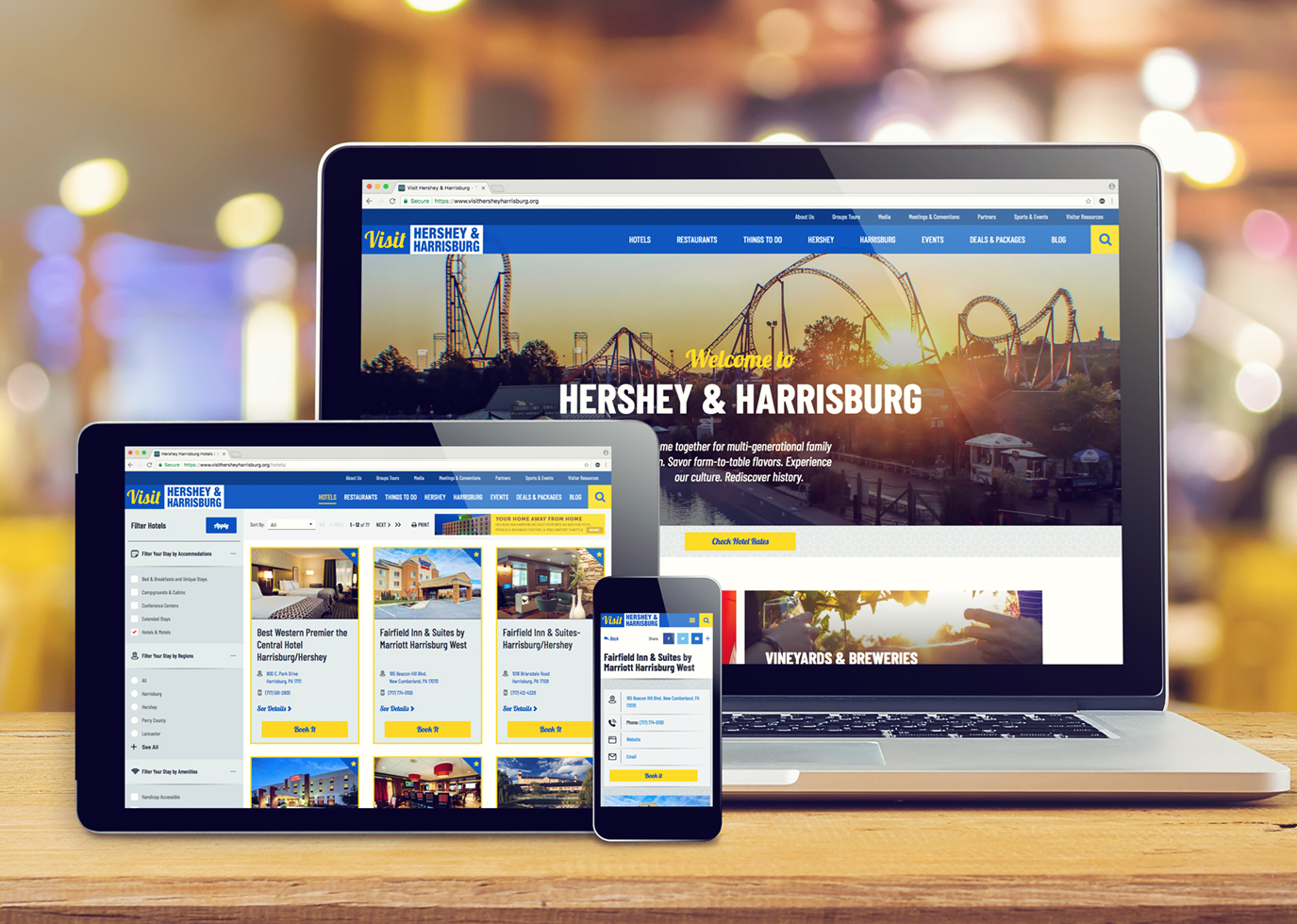 Synapse Website Strategy for Client Hershey