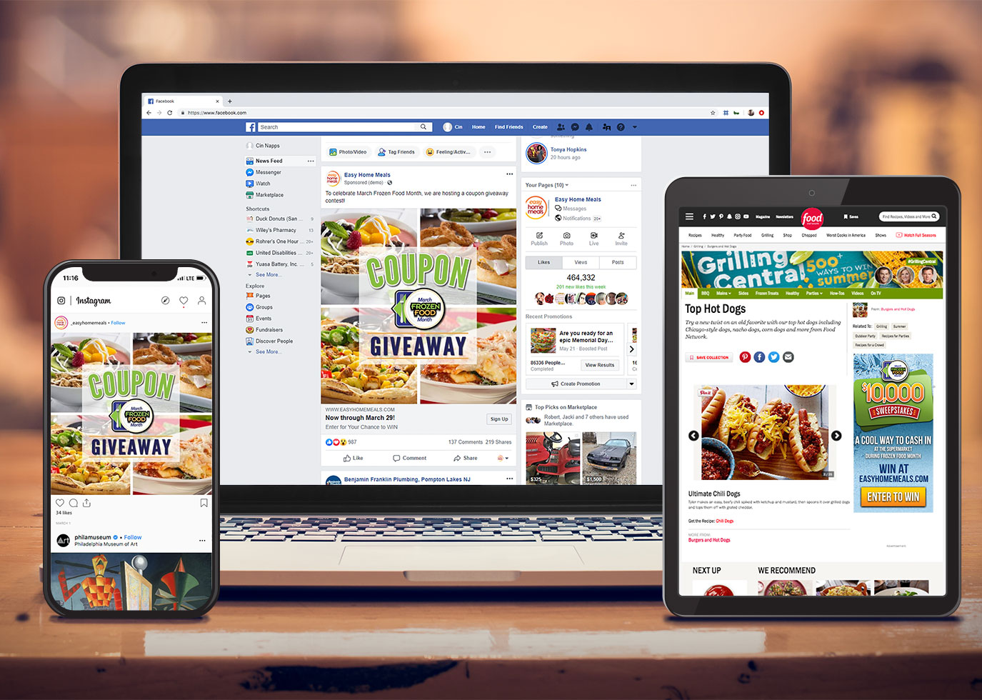 Digital Marketing Campaign for Easy Home Meals