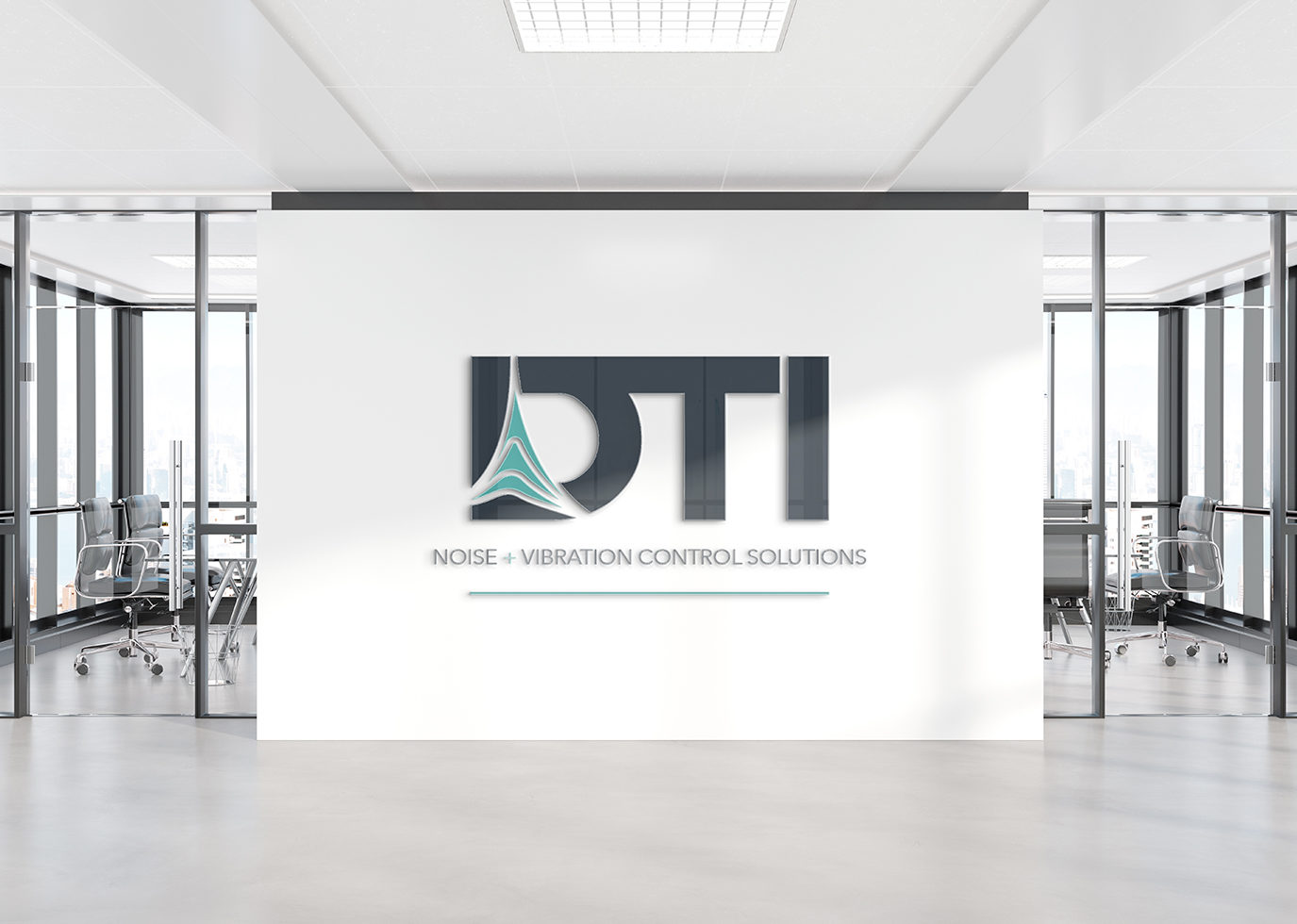DTI Branded wall
