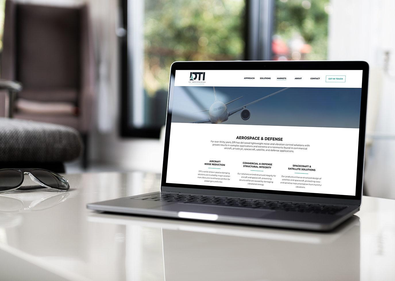 DTI on a laptop