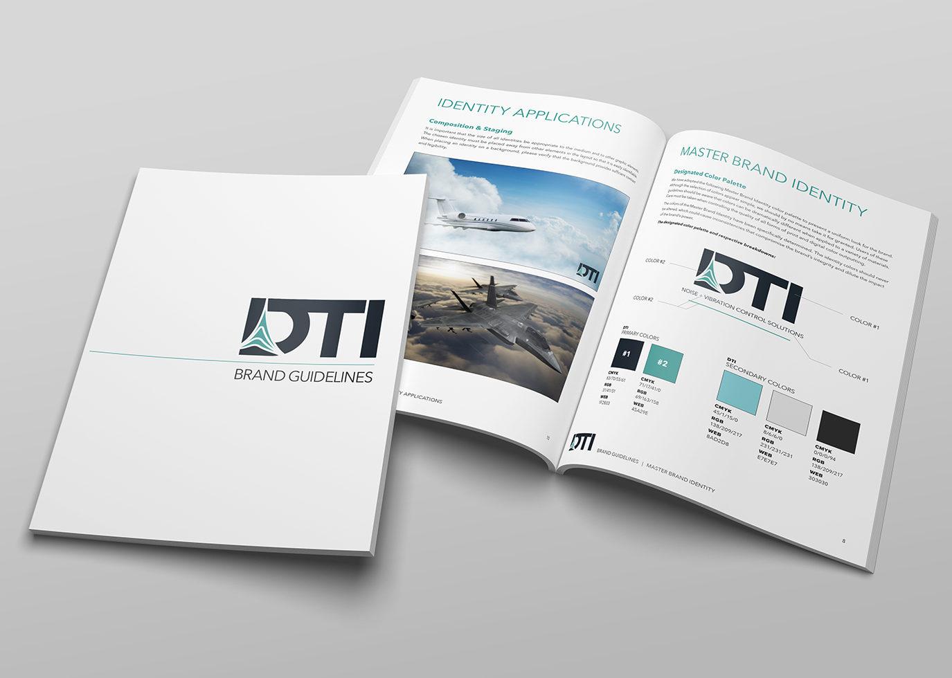 DTI brand guide