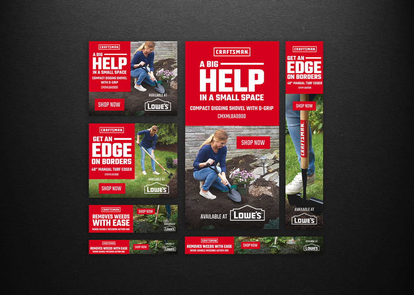 Lowes Campaign featuring Craftsman